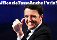 RENZI TASSA ANCHE ARIA 200