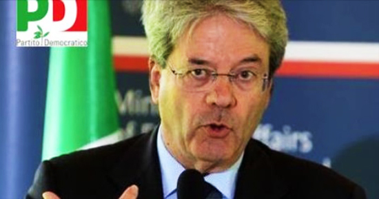 Gentiloni stanziati 120 milioni di Euro - 550
