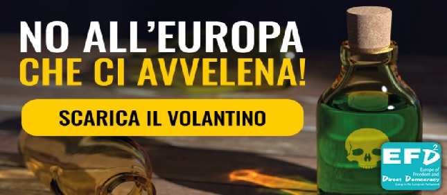 NO ALL'EUROPA CHE CI AVVELENA