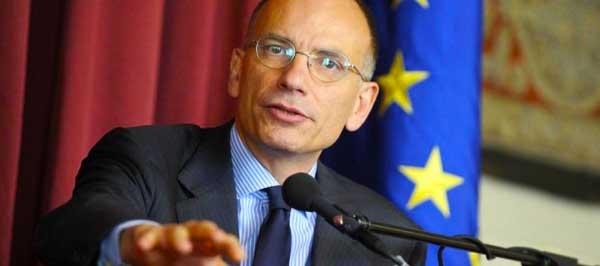 "Foto Fabio Cimaglia / LaPresse 15-04-2016 Roma Politica Camera dei Deputati. Incontro ""The State of the European Union and the Way Forward"" con Enrico Letta e Herman Van Rompuy Nella foto Enrico Letta Photo Fabio Cimaglia / LaPresse 15-04-2016 Rome (Italy) Politic Chamber of Deputies. Metting ""The State of the European Union and the Way Forward"" with Enrico Letta and Herman Van Rompuy In the pic Enrico Letta"