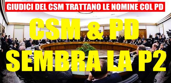 LO SCANDALO DEL CSM