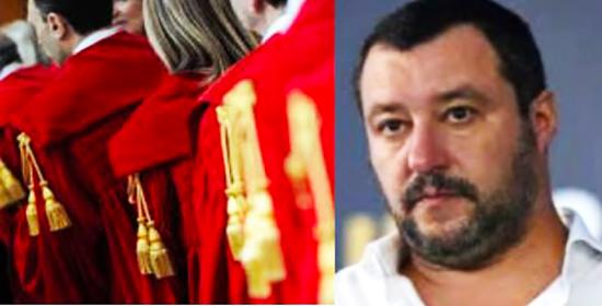Magistratura, Salvini